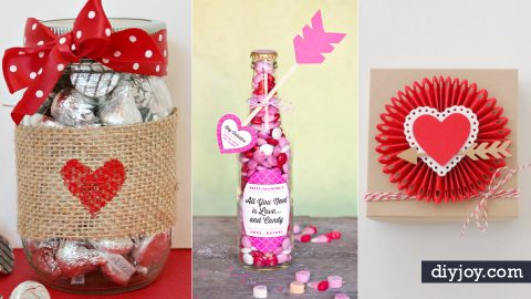 50 Cool DIY Valentine Gifts | DIY Joy Projects and Crafts Ideas