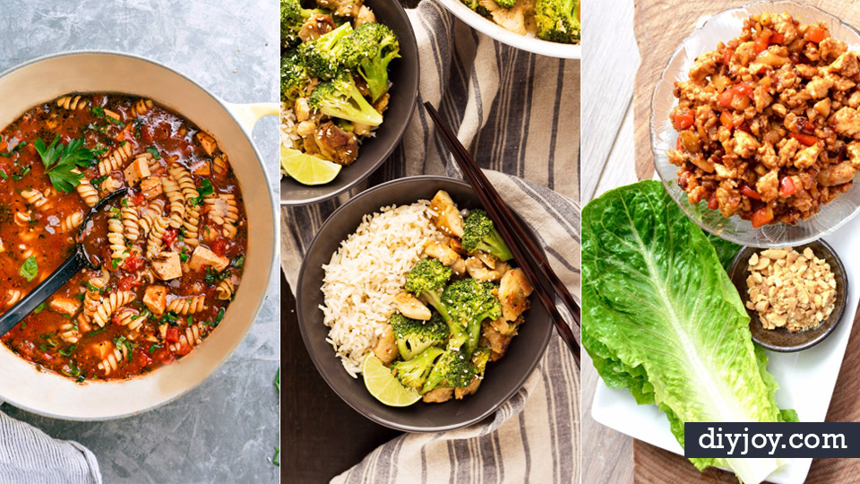 50 quick and healthy dinner recipes easy forumfinder Image collections