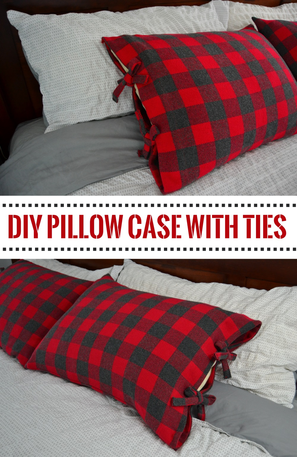 DIY Pillowcases - Bed Pillowcases With Ties - Easy Sewing Projects for Pillows - Bedroom and Home Decor Ideas - Sewing Patterns and Tutorials - No Sew Ideas - DIY Projects and Crafts for Women #sewing #diydecor #pillows