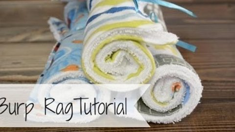Need Great Baby Gifts? She Makes The Best Burp Rags Ever! | DIY Joy Projects and Crafts Ideas