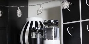 Black And White Decor Is Stunning…Watch What She Does To Get This Look!