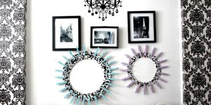 Her Room Decor Is So Stunning With These Super Cool Clothespin Frames!