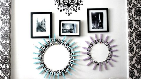 Her Room Decor Is So Stunning With These Super Cool Clothespin Frames! | DIY Joy Projects and Crafts Ideas
