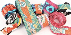 He Shows Us An Amazing Way To Make This Remarkable Boho Ribbon (So Easy!)