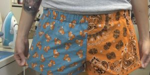 Watch How Easy It Is To Make These Cute Boxer Shorts!