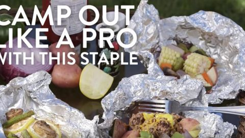 DIY Tin Foil Camping Recipes - Camp Out Meal - Tin Foil Dinners, Ideas for Camping Trips healthy Easy Make Ahead Recipe Ideas for the Campfire. Breakfast, Lunch, Dinner and Dessert, #recipes #camping