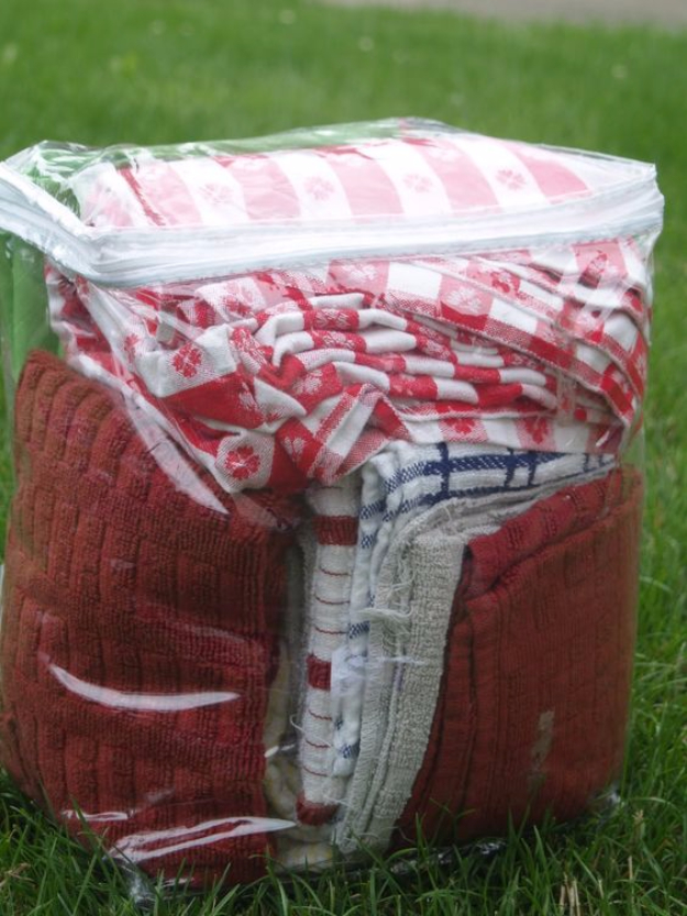 DIY Camping Hacks - Camping Bedding Storage - Easy Tips and Tricks, Recipes for Camping - Gear Ideas, Cheap Camping Supplies, Tutorials for Making Quick Camping Food, Fire Starters, Gear Holders #diy #camping