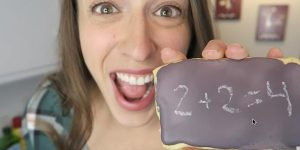 I Was Amazed When I Saw Her Chalkboard Cookies And Had To Know Her Secret!