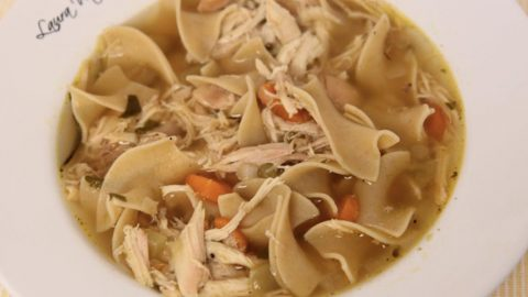 Chicken Noodle Soup Is A Great Comfort Food And This Is Hands Down The Best Chicken Soup Recipe! | DIY Joy Projects and Crafts Ideas
