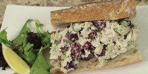 If You Want A Chicken Salad That Will Make You Swoon Watch How She Makes This!
