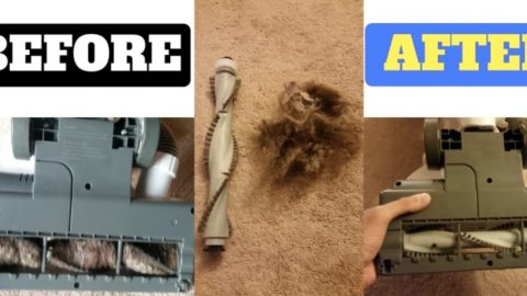 This Dad Shows Us How To Clean Our Vacuum Cleaner Without Having To Take It In To Be Done! | DIY Joy Projects and Crafts Ideas