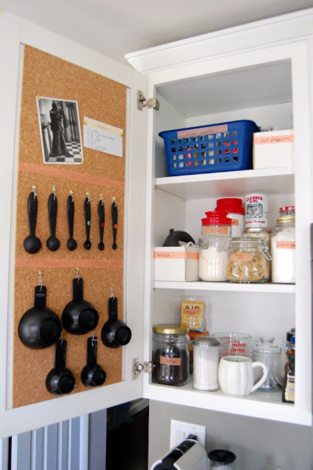 Best Organizing Ideas for the New Year - Cork Board Pantry Organization - Resolutions for Getting Organized - DIY Organizing Projects for Home, Bedroom, Closet, Bath and Kitchen - Easy Ways to Organize Shoes, Clutter, Desk and Closets - DIY Projects and Crafts for Women and Men http://diyjoy.com/best-organizing-ideas