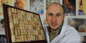 He Makes The Coolest Cork Board Out of Wine Corks (Watch!)