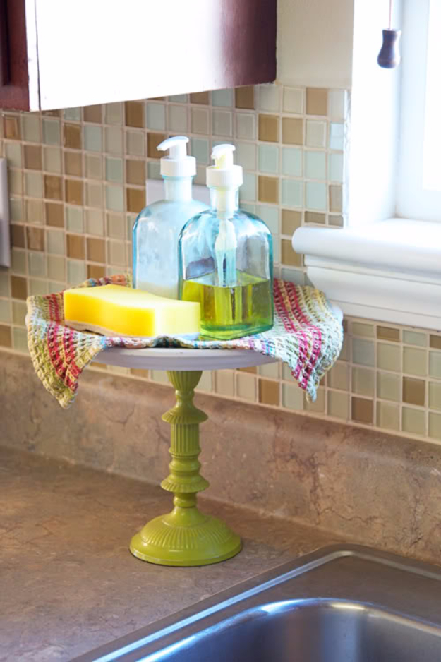 Best Organizing Ideas for the New Year - DIY Dish Soap Cake Stand - Resolutions for Getting Organized - DIY Organizing Projects for Home, Bedroom, Closet, Bath and Kitchen - Easy Ways to Organize Shoes, Clutter, Desk and Closets - DIY Projects and Crafts for Women and Men