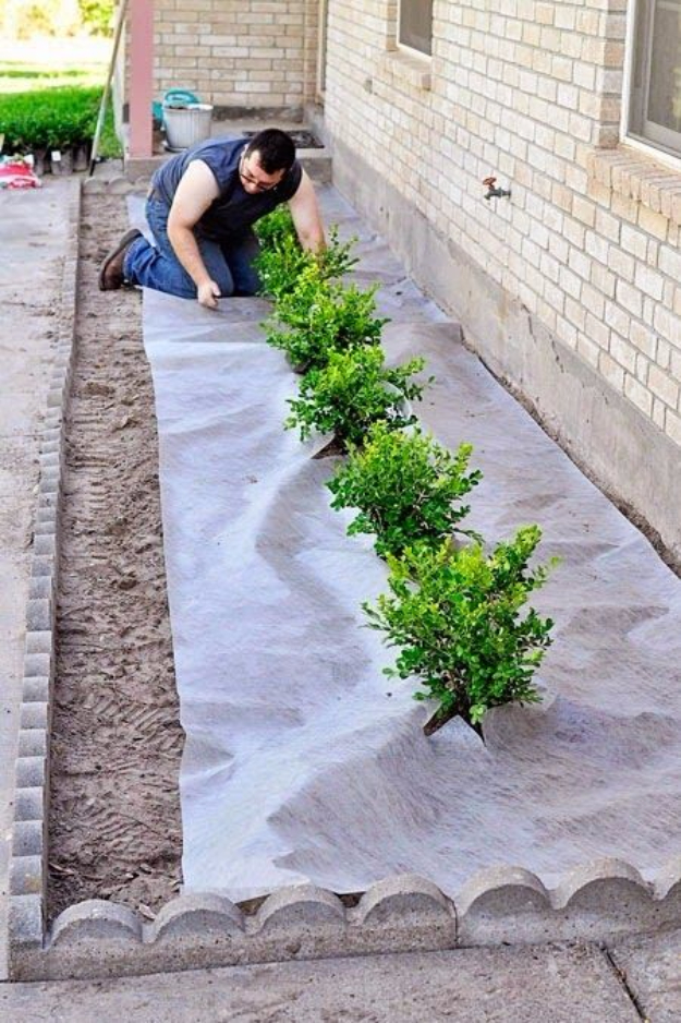 30 clever diy ideas for the outdoors diy joy for Do it yourself landscaping