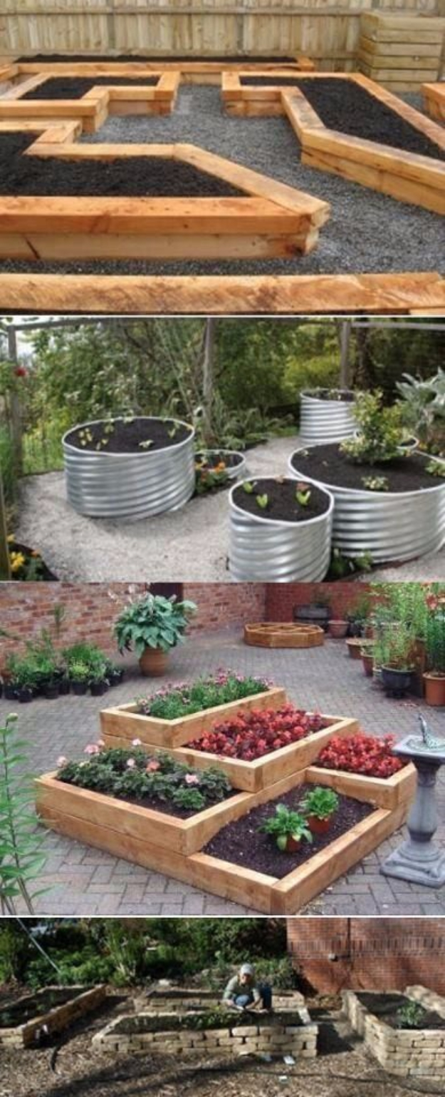 DIY Ideas for the Outdoors - DIY Raised Garden Beds - Best Do It Yourself Ideas for Yard Projects, Camping, Patio and Spending Time in Garden and Outdoors - Step by Step Tutorials and Project Ideas for Backyard Fun, Cooking and Seating #diy