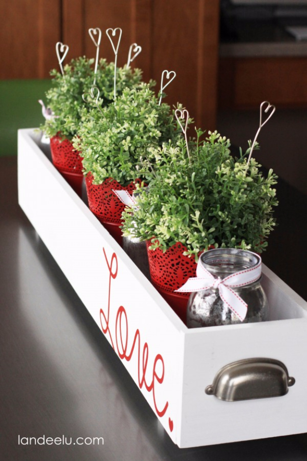 DIY Valentine Decor Ideas - DIY Wire Heart Picks - Cute and Easy Home Decor Projects for Valentines Day Decorating - Best Homemade Valentine Decorations for Home, Tables and Party, Kids and Outdoor - Romantic Vintage Ideas - Cheap Dollar Store and Dollar Tree Crafts