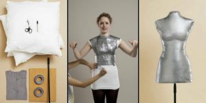You Won't Believe How Easy It Is To Make A Dress Form That's A Duplicate Of Your Body!