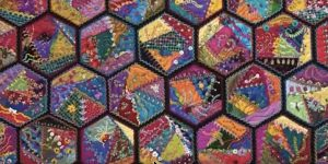 She Makes These Remarkable Foolproof Crazy Quilts That Are Vibrant And Full Of Color!