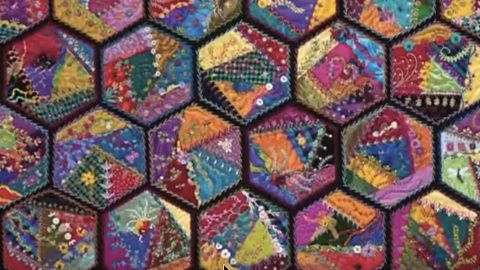 She Makes These Remarkable Foolproof Crazy Quilts That Are Vibrant ... : crazy quilts pictures - Adamdwight.com