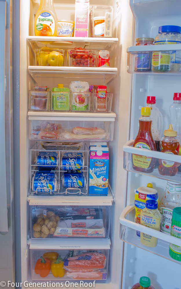 Best Organizing Ideas for the New Year - Fridge Organization - Resolutions for Getting Organized - DIY Organizing Projects for Home, Bedroom, Closet, Bath and Kitchen - Easy Ways to Organize Shoes, Clutter, Desk and Closets - DIY Projects and Crafts for Women and Men