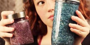Watch How She Makes This Mesmerizing Glittery Mason Jar For Calming An Anxious Child…