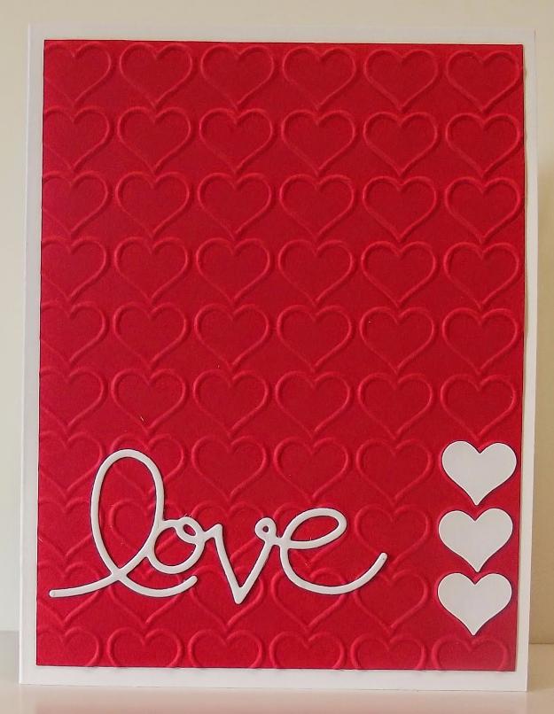 50 Thoughtful Handmade Valentines Cards DIY Joy – Hand Made Valentine Cards