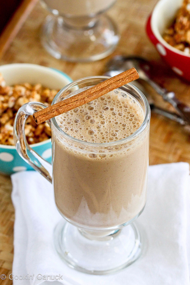 Healthy Smoothie Recipes - Healthy Coffee Banana Smoothie - Easy ideas perfect for breakfast, energy. Low calorie and high protein recipes for weightloss and to lose weight. Simple homemade recipe ideas that kids love. Quick EASY morning recipes before work and school, after workout #smoothies #healthy #smoothie #healthyrecipes #recipes