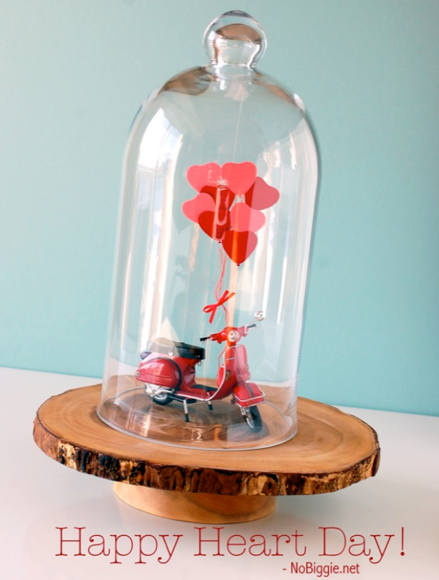 Best DIY Valentines Day Gifts - Heart Day Vignette - Cute Mason Jar Valentines Day Gifts and Crafts for Him and Her | Boyfriend, Girlfriend, Mom and Dad, Husband or Wife, Friends - Easy DIY Ideas for Valentines Day for Homemade Gift Giving and Room Decor | Creative Home Decor and Craft Projects for Teens, Teenagers, Kids and Adults http://diyjoy.com/diy-valentines-day-gift-ideas