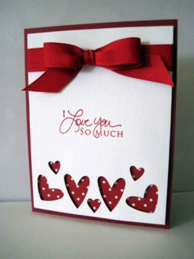 Hearts Abounding Valentine's Card