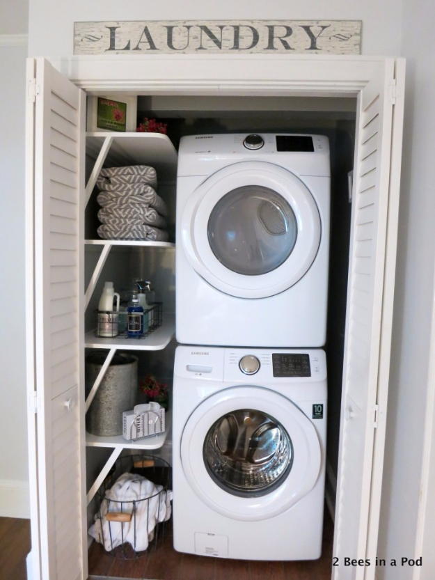 Best Organizing Ideas for the New Year - Laundry Closet Organization - Resolutions for Getting Organized - DIY Organizing Projects for Home, Bedroom, Closet, Bath and Kitchen - Easy Ways to Organize Shoes, Clutter, Desk and Closets - DIY Projects and Crafts for Women and Men