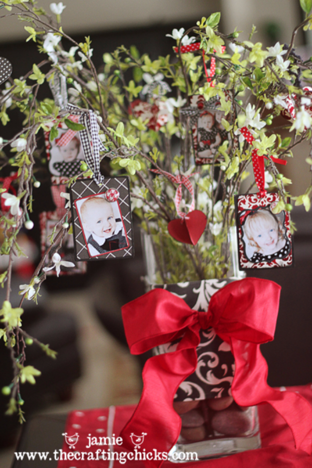 DIY Valentine Decor Ideas - Love Tree Centerpiece - Cute and Easy Home Decor Projects for Valentines Day Decorating - Best Homemade Valentine Decorations for Home, Tables and Party, Kids and Outdoor - Romantic Vintage Ideas - Cheap Dollar Store and Dollar Tree Crafts