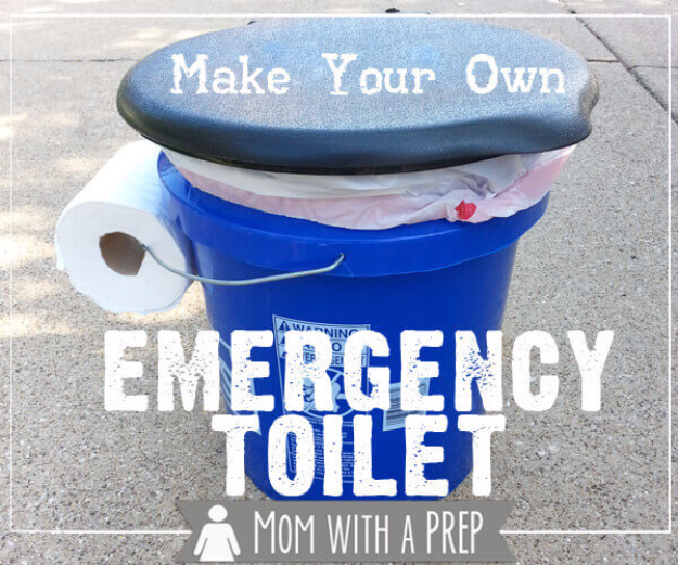 DIY Camping Hacks - Make Your Own Emergency Toilet - Easy Tips and Tricks, Recipes for Camping - Gear Ideas, Cheap Camping Supplies, Tutorials for Making Quick Camping Food, Fire Starters, Gear Holders #diy #camping