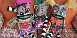Make These Fun And Quirky Monster Dolls Out of Your Leftover Scraps!
