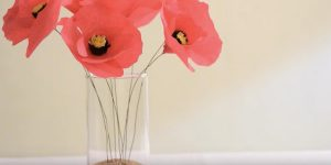 They Make Incredible Paper Poppies…They're Super Easy And Cheap Too!