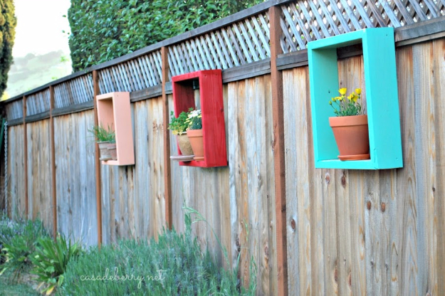 DIY Ideas for the Outdoors - Redwood Flower Frames - Best Do It Yourself Ideas for Yard Projects, Camping, Patio and Spending Time in Garden and Outdoors - Step by Step Tutorials and Project Ideas for Backyard Fun, Cooking and Seating #diy