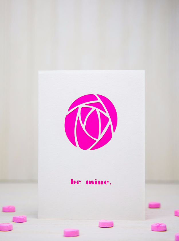 DIY Valentines Day Cards - Rose Shaped Valentine's Card - Easy Handmade Cards for Him and Her, Kids, Freinds and Teens - Funny, Romantic, Printable Ideas for Making A Unique Homemade Valentine Card - Step by Step Tutorials and Instructions for Making Cute Valentine's Day Gifts #valentines