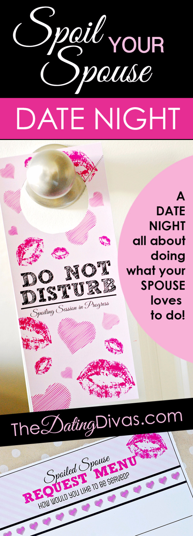 DIY Date Night Ideas - Spoil Your Spouse Date Night - Creative Ways to Go On Inexpensive Dates - Creative Ways for Couples to Spend Time Together creative date nights diy idea