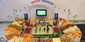 How To Make A Fun Snack Stadium For Your Super Bowl Party Easy And Cheap!