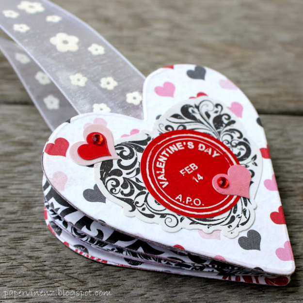 Best DIY Valentines Day Gifts - Valentines Bookmark - Cute Mason Jar Valentines Day Gifts and Crafts for Him and Her | Boyfriend, Girlfriend, Mom and Dad, Husband or Wife, Friends - Easy DIY Ideas for Valentines Day for Homemade Gift Giving and Room Decor | Creative Home Decor and Craft Projects for Teens, Teenagers, Kids and Adults