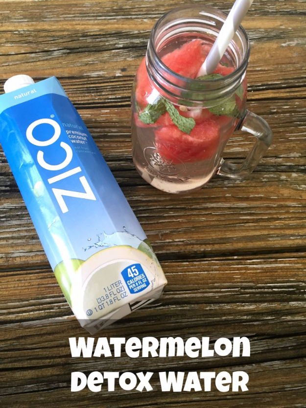 Best DIY Detox Waters and Recipes - Watermelon Detox Water - Homemade Detox Water Instructions and Tutorials - Lose Weight and Remove Toxins From the Body for Your New Years Resolutions - Easy and Quick Recipe Ideas for Getting Healthy in 2017 - DIY Projects and Crafts by DIY Joy