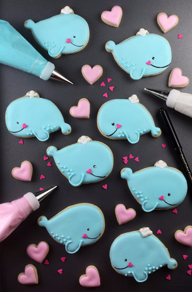 Best DIY Valentines Day Gifts - Whale You Be My Valentine - Cute Mason Jar Valentines Day Gifts and Crafts for Him and Her | Boyfriend, Girlfriend, Mom and Dad, Husband or Wife, Friends - Easy DIY Ideas for Valentines Day for Homemade Gift Giving and Room Decor | Creative Home Decor and Craft Projects for Teens, Teenagers, Kids and Adults