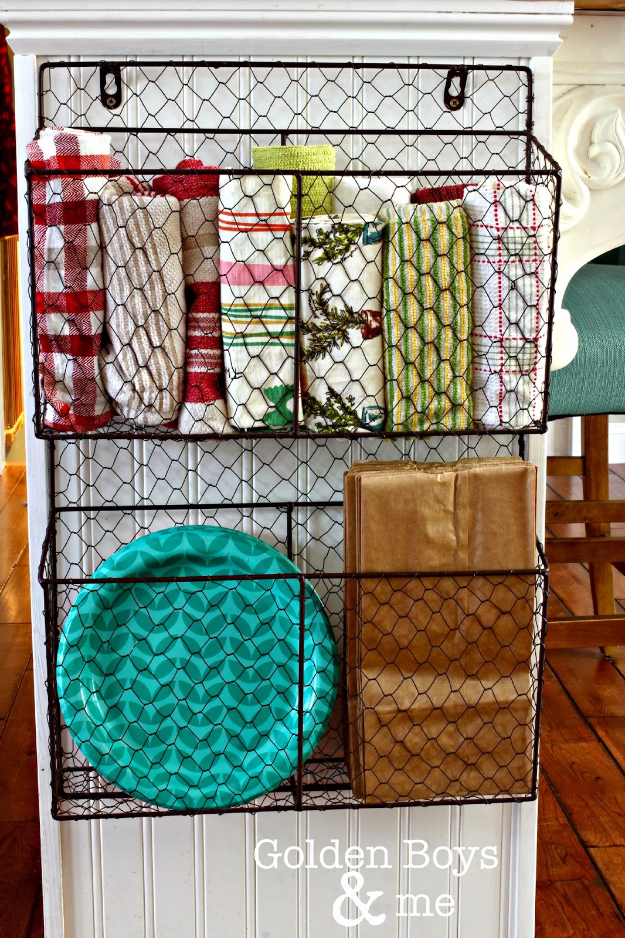 Best Organizing Ideas for the New Year - Wire Baskets To Organize Your Home - Resolutions for Getting Organized - DIY Organizing Projects for Home, Bedroom, Closet, Bath and Kitchen - Easy Ways to Organize Shoes, Clutter, Desk and Closets - DIY Projects and Crafts for Women and Men