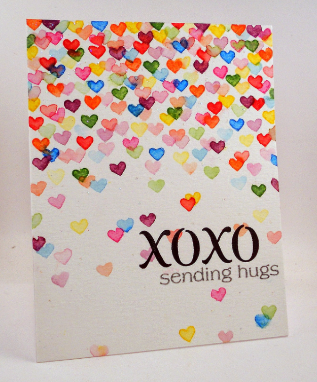 DIY Valentines Day Cards - XOXO Valentine's Card - Easy Handmade Cards for Him and Her, Kids, Freinds and Teens - Funny, Romantic, Printable Ideas for Making A Unique Homemade Valentine Card - Step by Step Tutorials and Instructions for Making Cute Valentine's Day Gifts #valentines