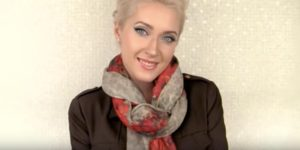 She Shows Us 15 Super Cool Ways To Tie A Scarf Around Her Neck!