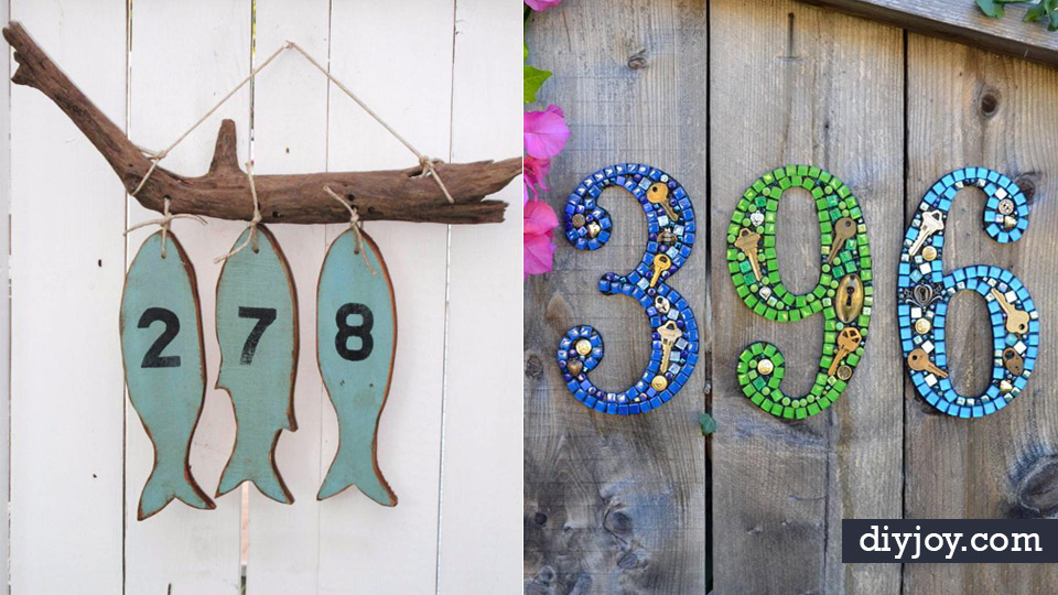 diy house numbers diy numbers to put in front yard and at front