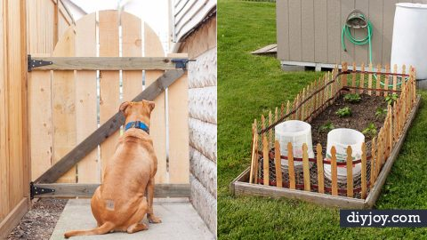 36 DIY Fences and Gates To Showcase Your Yard | DIY Joy Projects and Crafts Ideas