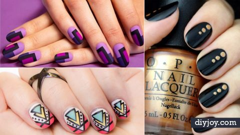 37 Quick but Awesome 5 Minute Nail Art Ideas | DIY Joy Projects and Crafts Ideas