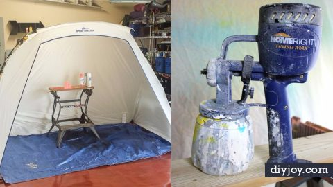 37 Spray Painting Tips From The Pros | DIY Joy Projects and Crafts Ideas