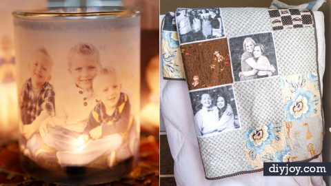 40 Creative Handmade Photo Crafts | DIY Joy Projects and Crafts Ideas
